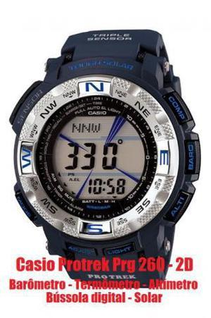 0ab1c5ca31a Relógio casio protrek prg 260-2d