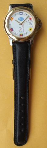 Relógio de pulso masculino comemorativo commodores club