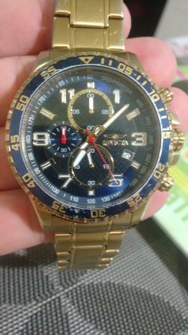Relógio invicta masculino ótimo