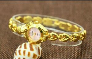 Relógios femininos quartzo banda de luxo/entregamos em