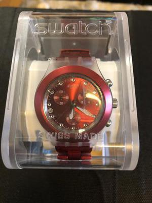 f9733db7f Relogio swatch vermelho 【 REBAIXAS Junho 】 | Clasf