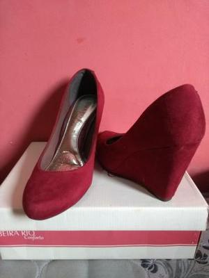 57a3572985 Sapato vermelho   REBAIXAS fevereiro