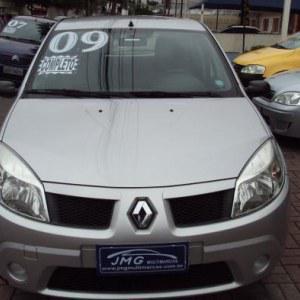 Renault sandero expression hi-flex 1.6 8v 5p 2009