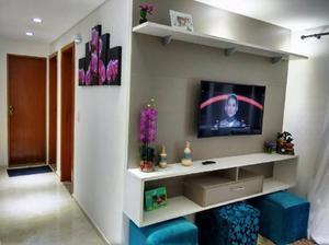 Apartamento exclusivo com plantas de 53 e 56m² / varanda