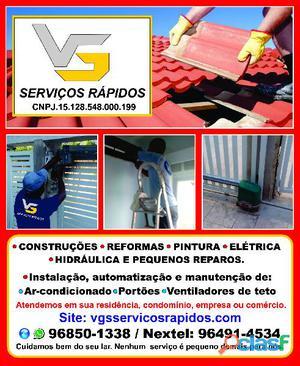 Instalação e Manutenção de ar condicionado Split e de janela na Região Oceânica – VGS Serviços