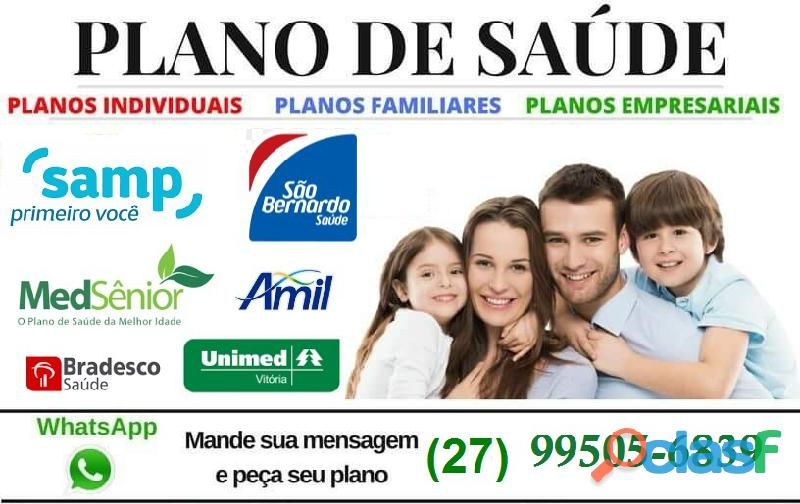 Planos : UNIMED, SAMP, MEDSENIOR (27) 3055 4439 1