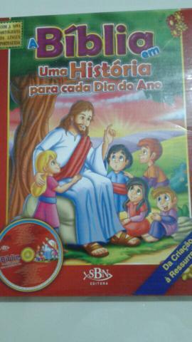 Bíblia infantil - uma história para cada dia do ano