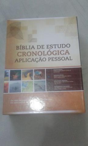 Biblia aplicação pessoal ordem cronológica