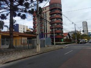 Casa comercial - bairro alto da xv - terreno de esquina