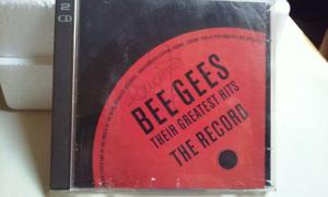 Cd duplo bee gees - their greatest hits the record