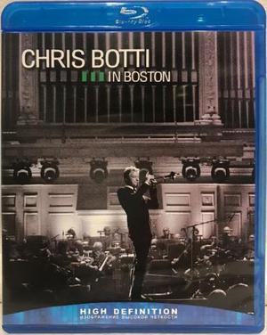 Chris botti in boston - blu ray - importado - impecável