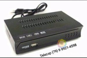 Conversor receptor tv digital gravador