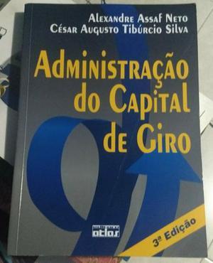 Livro administração do capital de giro