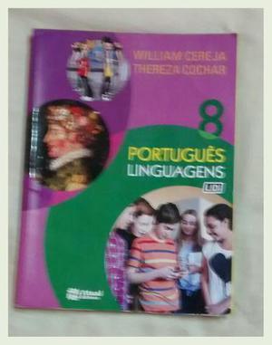 Livro didático de língua portuguesa para o 8º ano