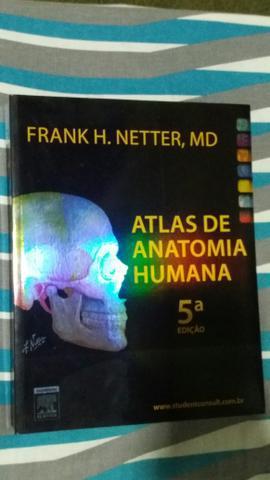 Livro novo atlas de anatomia humana/ netter 5° ed