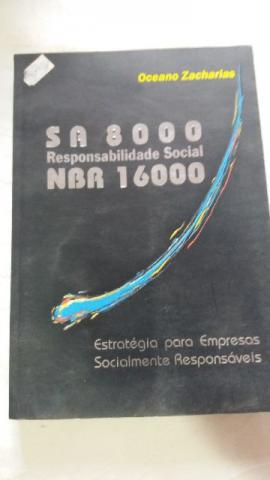 Livro sa 8000 responsabilidade social nbr 16000