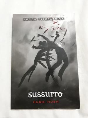 Livro: sussurro - hush, hush
