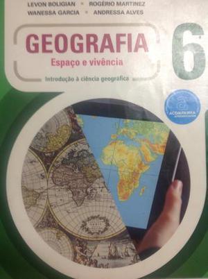 Livro didático de geografia 6o. ano