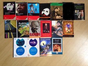 Livros paradidaticos ingles e espanhol leitura, vários