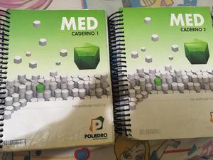 Materiais usados do cursinho uni poliedro turma medicina