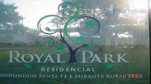 Terreno com 876 metros, royal park, bonfim paulista, 314f960110