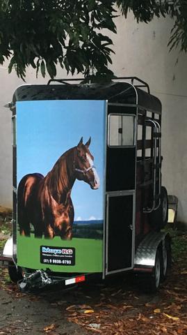 Trailer reboque pra cavalos
