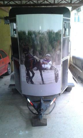 Treiler para dois cavalos zero !aceito proposta!