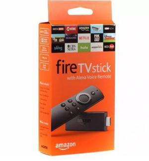 Amazon fire tv stick 2017 - c/ alexa (melhor que chromecast)