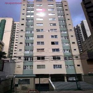 Apartamento residencial à venda, cristo rei, curitiba -