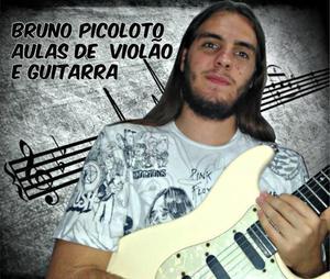Aulas de guitarra e violão em hortolândia