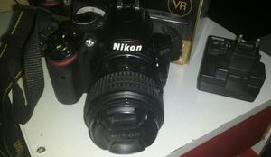 Câmera nikon d3200 24,2mp + lente