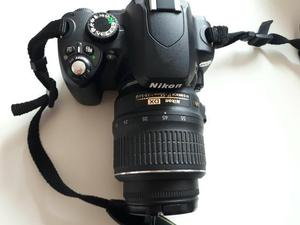 Câmera fotográfica nikon d60 + lente nikon dx 18-55mm