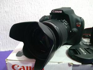 Câmera profissional dslr canon t5