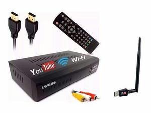Conversor dig/ana youtube rca hdmi + receptor wifi