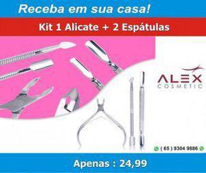 Kit 1 alicate + 2 espátulas (bazar mt)