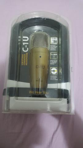 Microfone para gravação behringer profissional
