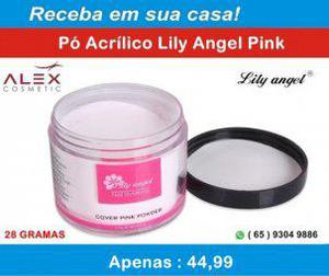 Pó acrílico lily angel 28g (alex cosmetic)