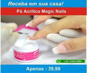 Pó acrílico magic nails pink natural (alex cosmetic)
