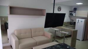 Primeira locação - apartamento/ studio mobiliado estrela