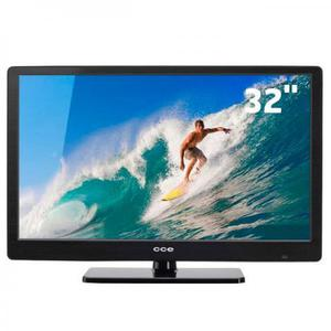 """Tv led 32"""" hd cce lt32g com conversor hdmi e usb"""