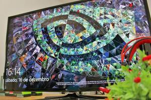 """Tv led smart samsung novíssima 40""""   controle original"""