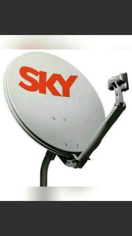 Técnico em antenas sky claro oi