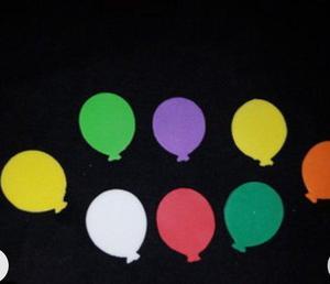 Balões com papel dupla face r$ 0,10