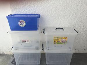 Caixas de plástico organizadoras