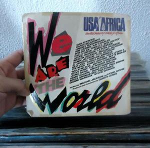 Compacto de vinil we are the world -usa for africa