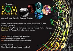 Dj banda musical som brasil casamentos cerimonial