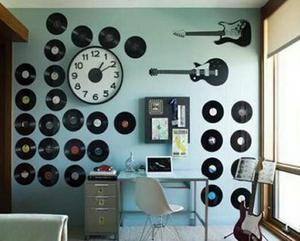 Discos vinyl pra decorações