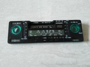 Frente e moldura radio toca fitas motoradio águia antigo -