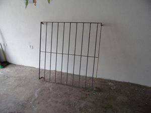 Grade em ferro maciço 1,25x1,25cm