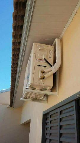 Instalação e manutenção de ar condicionado e split.